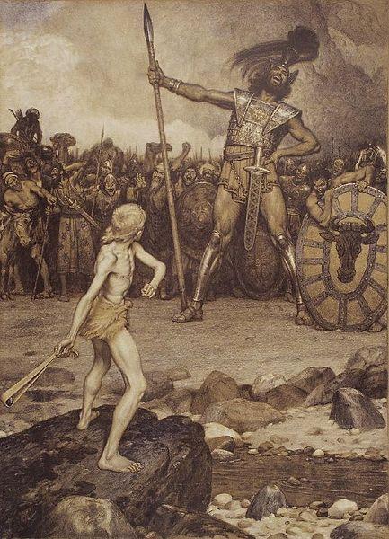 Osmar Schindler's David und Goliath