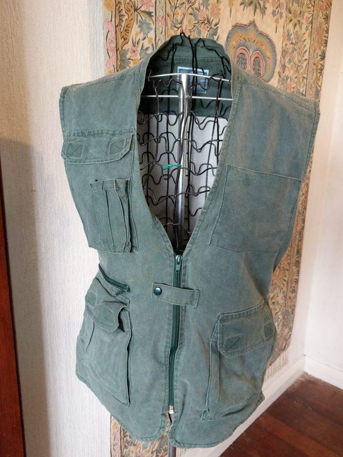 waistcoat with lots of pockets